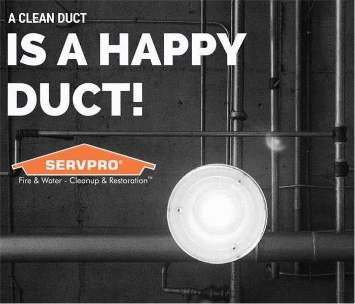 Cleaning Duct cleaning, the SERVPRO way!